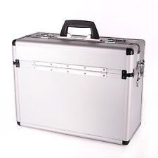 Aluminium Pilotenkoffer Silber - Neu