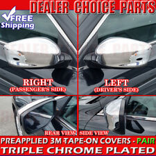 2008 2009 2010 2011 2012 Honda Accord Chrome Mirror COVERS Trims Overlays full
