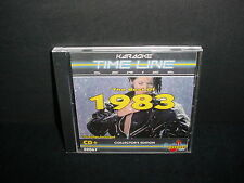 Karaoke Time Line Series The Best of 1983 Music CD