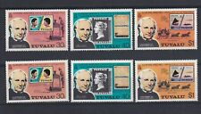 TUVALU 1979 Sir Rowland Hill Death Centenary Set plus Perf 15 Set from MS MNH