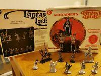 Grenadier's Fantasy Lords Skeletons Raiders Of The Undead Set Model Figures 1985