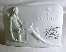 1985 Lladro Society Plaque