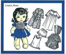 Vintage Louise Anne Sock Doll Sewing pattern