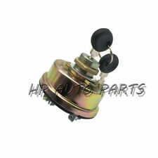TX10953 Ignition Switch for 4158641 Fiat Universal Long Tractor 87569357 Ford