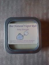 ALL NATURAL Baby Vapor Chest Rub - Congestion Relief - Better than Vicks - 2oz