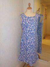 Gina Bacconi Blue/White dress SLL5149 Size 18