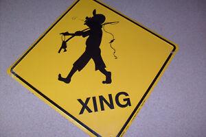 Fisherman Xing Sign