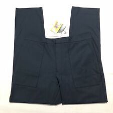 J Crew Destination Pants Navy Blue Mens Size 36x32 Stretch 3xdry Tech Dress Pant