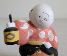 1.5 inch Japanese Antique Clay Doll