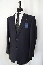 Men's New Alexandre Savile Row Navy Regular Fit Suit 42L W34 L31 AA1422