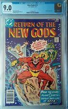 NEW GODS #12 CGC 9.0 OW-W, 1977 Milgrom & Adkins, Darkseid