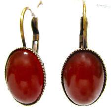 Mode-Ohrschmuck im Hänger-Stil aus Bronze Handgemachtes-Glas