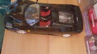 Burago 1/18 Scale - Ferrari F50 SCHWARZ 1995 Metal die cast black TOP condition