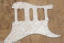 Golpeador Stratocaster HSH Aged Pearl Pickguard 3 Capas Humbucker Sin Tapas