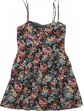 Forever 21 Floral Printed Dress (S) Very Minor Fading, Sweetheart Neckline