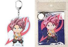 "Movie Fairy Tail Dragon Cry Deka Key Chain Natsu Dragneel 3.9"" Long Licensed New"