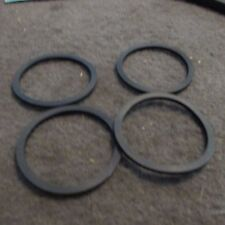 NOS 1974 - 1980 FORD MUSTANG II PINTO 2800cc THERMOSTAT HOUSING GASKETS 4PCS LOT