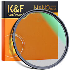K&F Concept 49/52/55/58/67/72/77/82 mm Black Pro-Mist 1/4 Filter Special Effects