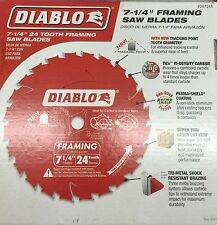 SPECIAL PRICE...10Pc. Freud Diablo D0724A 7-1/4x24th Circular Framing Saw Blade