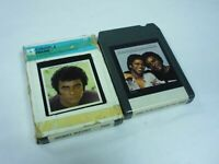 2 X 8-track cartridges Johnny Mathis and Deniece Williams