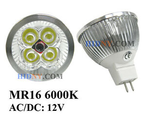 Lot of 10 GU10 / MR16 3W 4W HIGH POWER LED ENERGY SAVING LIGHT BULB SPOT LAMP