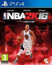 NBA 2K16 (Sony PlayStation 4, 2015) NEW sealed