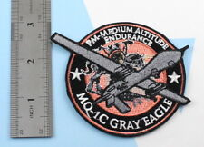 embroidery patch iron General Atomics MQ-1C Gray Eagle Sky Warrior Army Drone