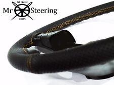 VOLANTE in Pelle Perforata Copertura Per Vauxhall Movano MK3 Giallo Doppio ST