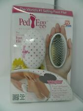 Ped Egg Foot File As seen on Tv Tele Brands Color May Vary