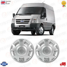"16"" SILVER WHEEL TRIM / COVER SET FITS FORD TRANSIT MK6, MK7 2000/14 (SET of 2)"