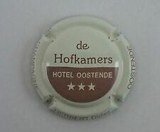 NOUVELLE capsule champagne HERBERT didier hotel oostende crème et marron