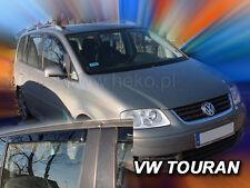 HEKO 31143 | Windabweiser für VW TOURAN I II 5türer ab 03.2003-2015 4teilig