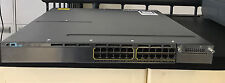 CISCO WS-C3750X-24P-S Stackable 24 10/100/1000 Ethernet PoE+