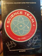 Science Team Dvd autographed x2 cult scifi horror the taint oop htf rare