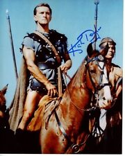 KIRK DOUGLAS signed autographed SPARTACUS photo