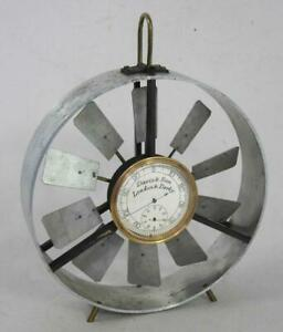 ANTIQUE DAVIS & SON COLLIERY AIR FLOW METER ANEMOMETER MINING MINERS