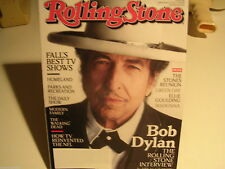 Rolling Stone September 27, 2012 Issue 1166 Bob Dylan