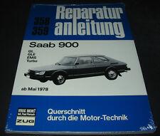 Reparaturanleitung Saab 900 GL / GLE / EMS / Turbo ab Baujahr Mai 1978 NEU!