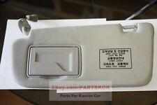 For 2006~2010 Kia Optima LH Drivers Side Sun Visor Gray Genuine (Trim code QW)