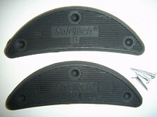 SoleTech #6 Plastic Heel Plates Shoe Boot Savers 5 pairs with Nails