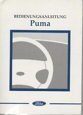 FORD   PUMA Betriebsanleitung 1998 Bedienungsanleitung Handbuch Bordbuch  BA