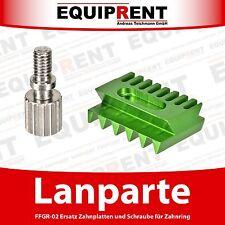 Lanparte Ersatzteil: Zahnplatte + Schraube für FFGR-02 Zahnring (EQ434A)