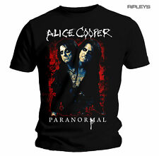 Official T Shirt Alice Cooper Album Paranormal SPLATTER Cover All Sizes