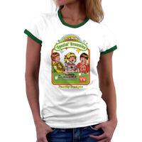 Halloween Let's Make Brownies Women Cotton Funny T-Shirt Short Sleeve Tee Tops