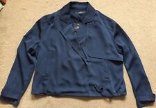 NEXT Tailoring  Navy Soft Jacket/Blazer Size 14 RRP £40 Brand New