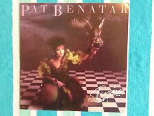 "PAT BENATAR Tropico 12""x 12"" LP-SIZED PROMOTIONAL POSTER FLAT 1984"