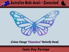 Sticker - Butterfly Chameleon colour change Bumper Sticker Decal laptop
