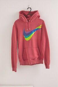 Nike Big Logo Pullover Hoodie | Women's | XS | Pink