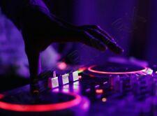 MUSIC PHOTO DJ DECKS NEON TURNTABLE WALL POSTER ART PRINT LF3190