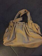 Oasis Large Tan Genuine Leather Bag Bnwot